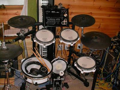 電子ドラム TD-30の全体