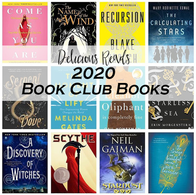 2020 Book Club Books