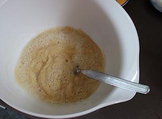 Elaboración de los pastelillos de chocolate y frambuesas