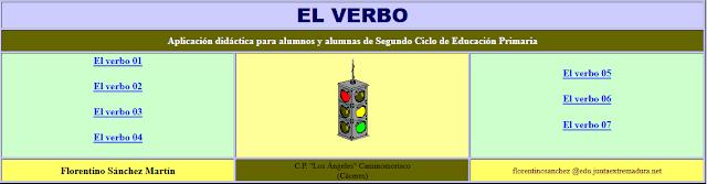 http://www.ceiploreto.es/sugerencias/cplosangeles.juntaextremadura.net/web/curso_4/lengua4/elverbo/indice.htm