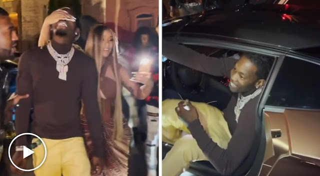 Omo! Check Out The Price Of The Lamborghini Cardi B Got For Her Husband
