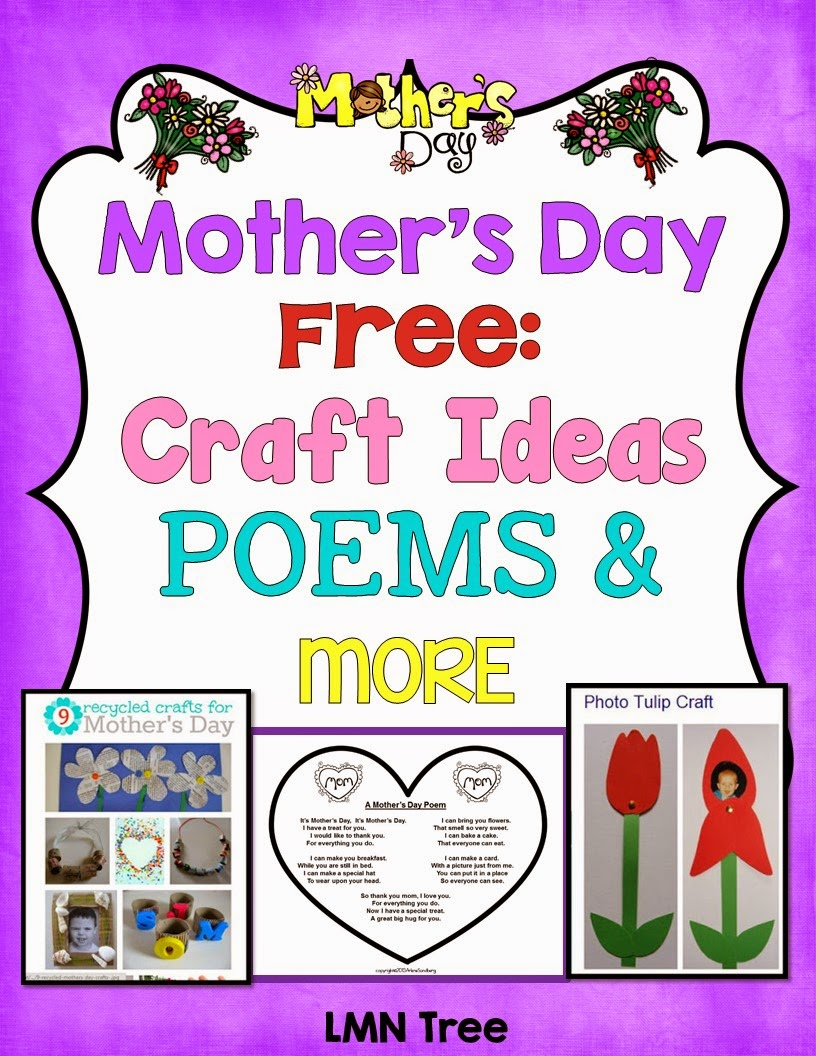 lmn tree mother 39 s day free poems craft ideas and more for pre k through 1st grade. Black Bedroom Furniture Sets. Home Design Ideas