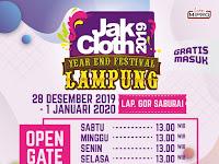 JakCloth 2019 di Lapangan Saburai Bandar Lampung, Kuy Ramaikan!