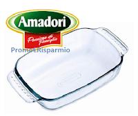 Logo Amadori : in omaggio sicuro la Pirofila in vetro Pirex ! Come riceverla