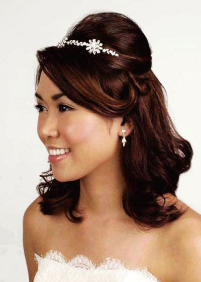 Amazing Interactive Magazine Wedding Hairstyles For Medium Length Hair 2 Short Hairstyles Gunalazisus