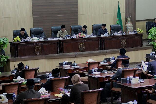 Fraksi-Fraksi DPRD Muba Sampaikan Pemandangan Umum