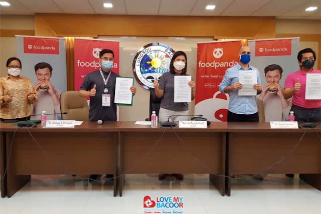 Bacoor LGU partners with Foodpanda, other delivery service companies