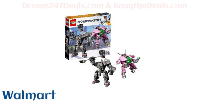 LEGO Overwatch D.Va and Reinhardt 75973 Mech Building Kit (455 Pieces)