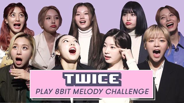 TWICE 8-bit melody challenge