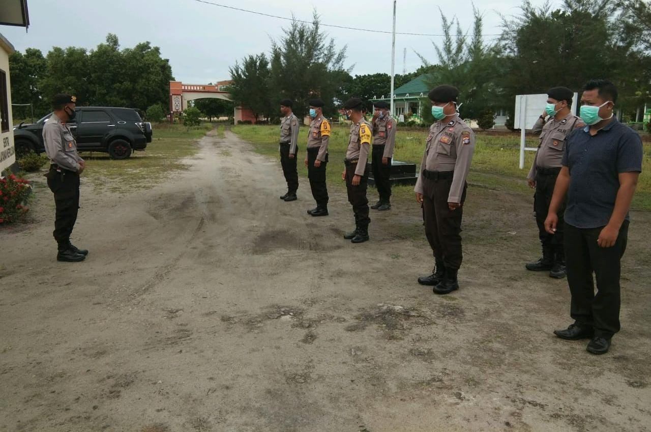 Waspadai Karhutla, Polsek Pantai Lunci Tingkatkan Patroli Karhutla