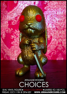 Choices Gold Edition Vinyl Figure by Jermaine Rogers