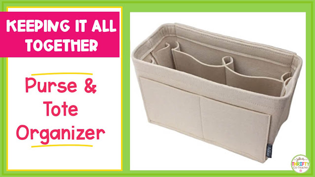 Don't know what to get the teacher for Christmas? A purse or tote organizer might be the answer.