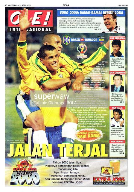 ROBERTO CARLOS AND RIVALDO BRASIL VS ECUADOR