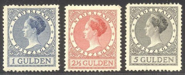 NETHERLANDS 1925-30 Wilhelmina Set
