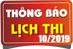 Lịch thi sát hạch lái xe ô tô B1, B2, C, D, E tháng 10/2019 tại Hà Nội