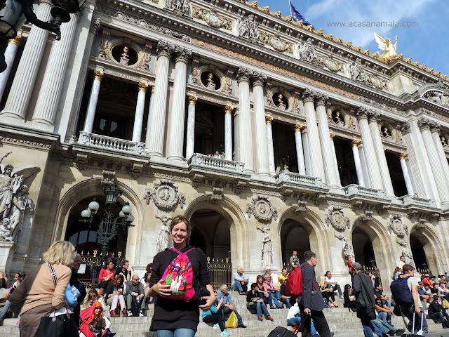 Ópera Garnier - perto do Hotel Choiseul Opera