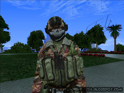 GTA SA - Skin Russian Special Force