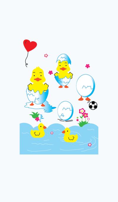 Cute the duck theme v.1