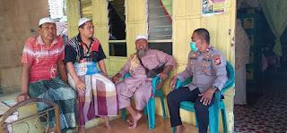 Kapospol IPTU Baharuddin Rakor dengan Tomas dan Toga di Pulau Kodingareng