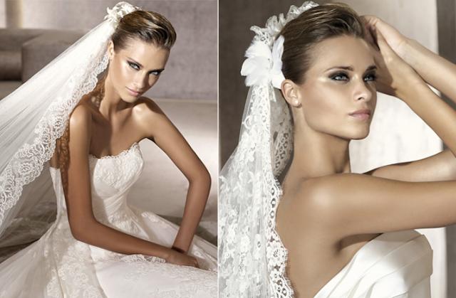 Fashion Mania: Simple & Natural Bridal Hairstyle
