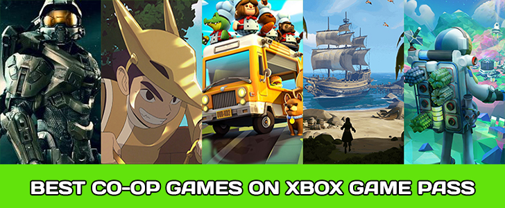 Top Couch Co-Op Games on Xbox Game Pass