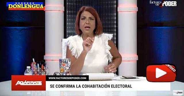 Patricia Poleo le da con todo a Henry Ramos Allup y a Juan Guaidó por el Fraude Electoral de noviembre