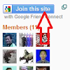 Cara Bergabung ke Blog/Join This Site With Google Frien Connect