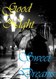 good night rain images