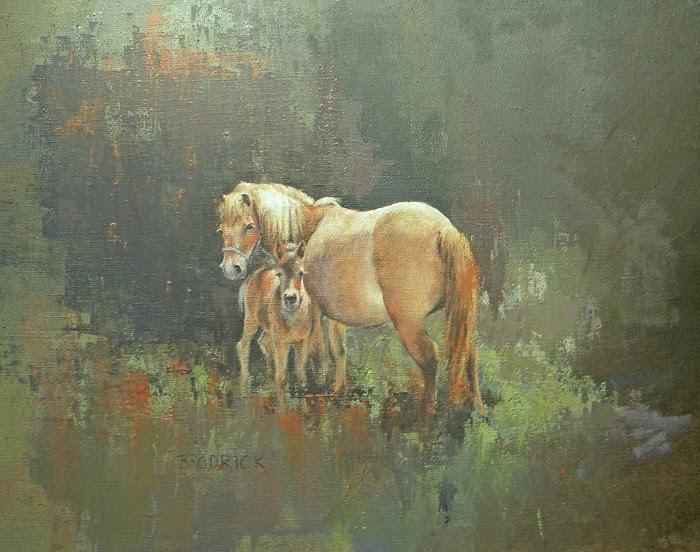 J.M. Brodrick - Spring Pony