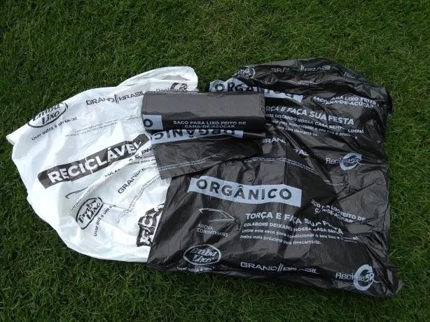Saco plástico Corinthians