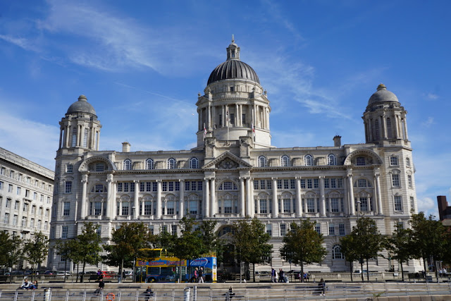 Three Graces em Liverpool