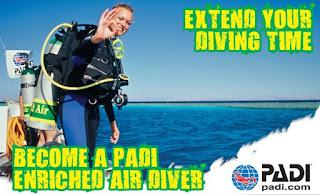 Nitrox diving