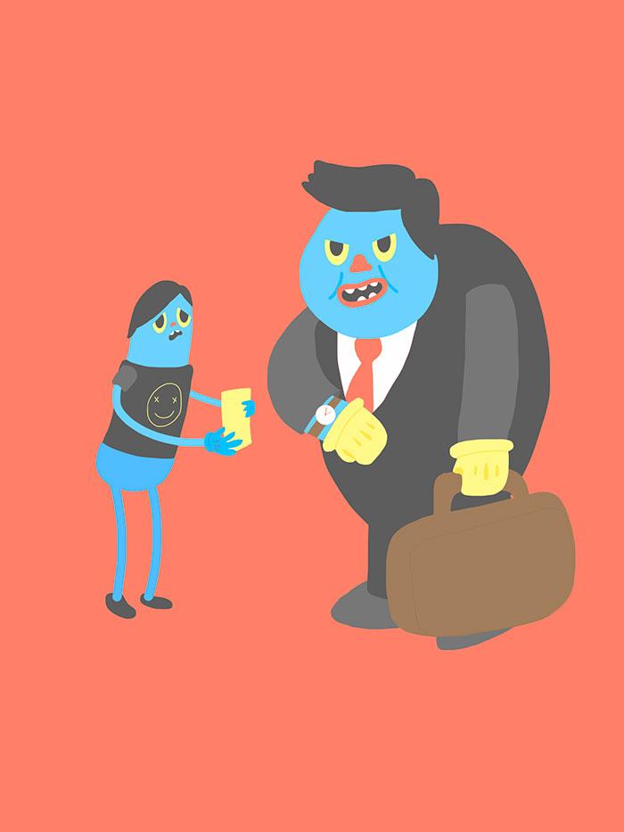 Ilustración, No seas como ellos de John Alexander Rojas Sastoque aka Jack Sasville