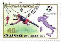 Selo Goleiro na Copa do Mundo FIFA de 1990
