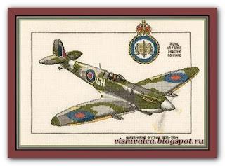 "Heritage Crafts Серия: Aeroplanes CSF165 ""Supermarine Spitfire"""