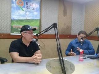 Em entrevista na Rádio Rural AM, o vereador Raimundo Macêdo (PSDB),  ressaltou a importância da transparência nas informações, da sua vontade de continuar trabalhando desenvolvimento de GBA