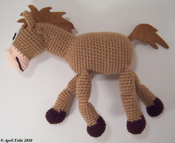 Crochet Pattern Free Horse : Miss Julias Patterns: Free Patterns - 65 Toys to Knit ...