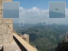 Ovnis en Montserrat