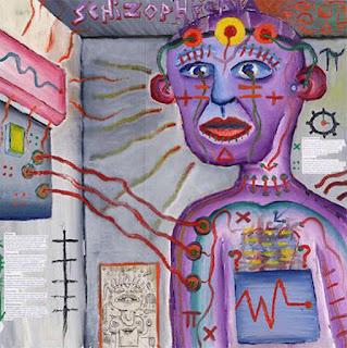 Autorretrato de un paciente con esquizofrenia, en el acto de su tratamiento.