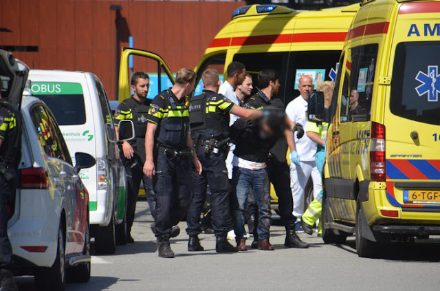 الشرطة الهولندية تعتقل شاب سوري طعن زوجته في مدينة خاودا