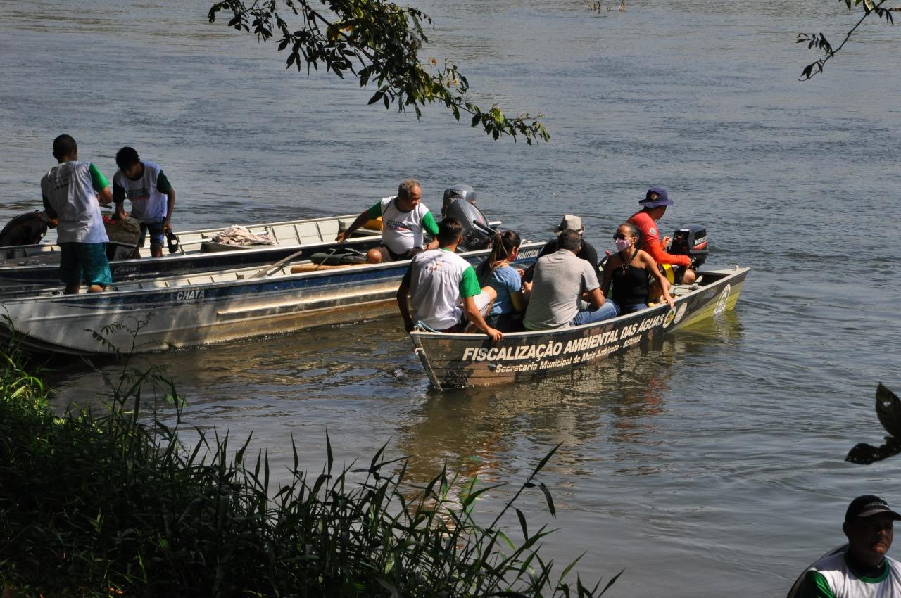No Dia Nacional do Cerrado, Prefeitura de Barreiras realiza mais um mutirão de limpeza no Rio Grande