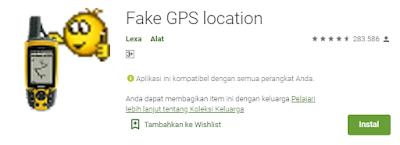 Cara Menggunakan aplikasi Fake GPS Mobile Legends