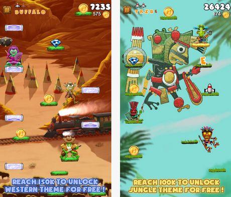 δωρεάν εθιστικό παιχνίδι με βάτραχο για android και iOS συκευές