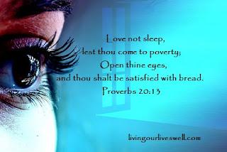 Proverbs 20:13