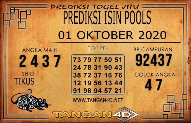 PREDIKSI TOGEL ISIN TANGAN4D 01 OKTOBER 2020