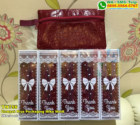 Dompet Riya Packaging Mika Motif