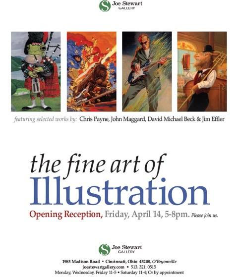 The Fine Art of Illustration Show at Joe Stewart Gallery