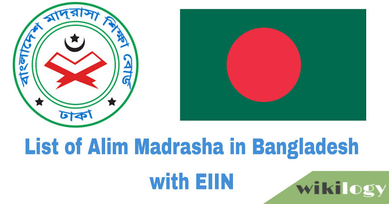 List of all Madrasah in Bangladesh with EIIN Dakhil & Alim