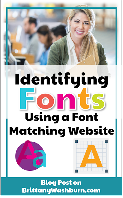 Finding the name of a font quickly and easily