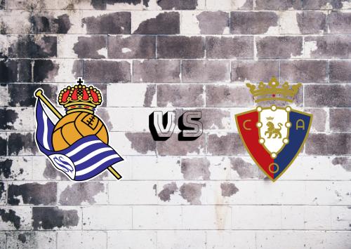 Real Sociedad vs Osasuna  Resumen